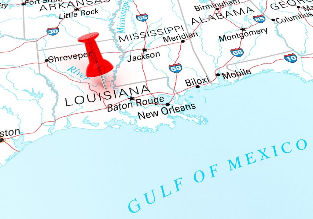 places to go in Louisiana